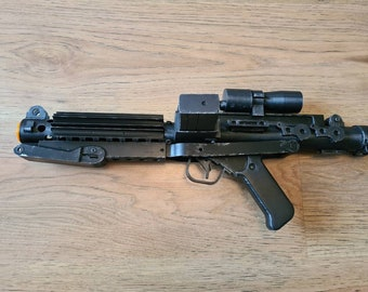 E11 Stormtrooper Blaster - 3d printed - with Display Stand