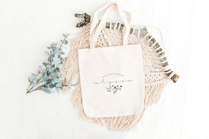 Maid of Honor Gift Bag Bridesmaid Gift Bag Wedding Bags
