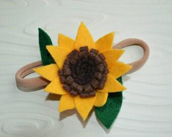 Sunflower Hair Piece