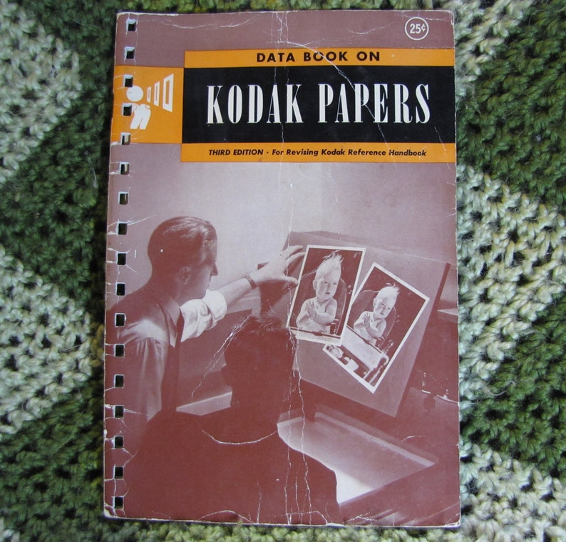 Vintage Kodak Papers Data 1946 Book  A How To Reference image 0