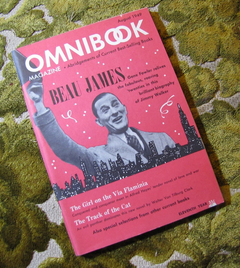 Vintage Omnibook Magazine August 1949 Issue  Best Selling image 0