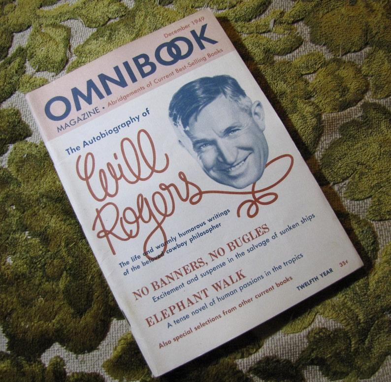 Vintage Omnibook Magazine December 1949 Issue  Best Selling image 0
