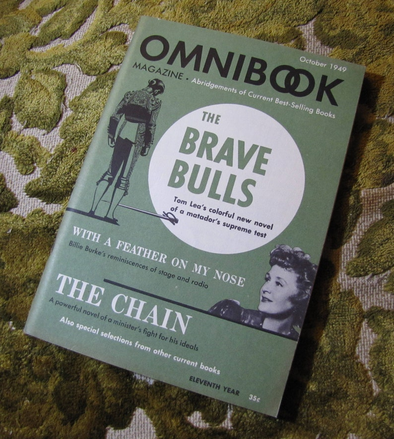 Vintage Omnibook Magazine October 1949 Issue  Best Selling image 0