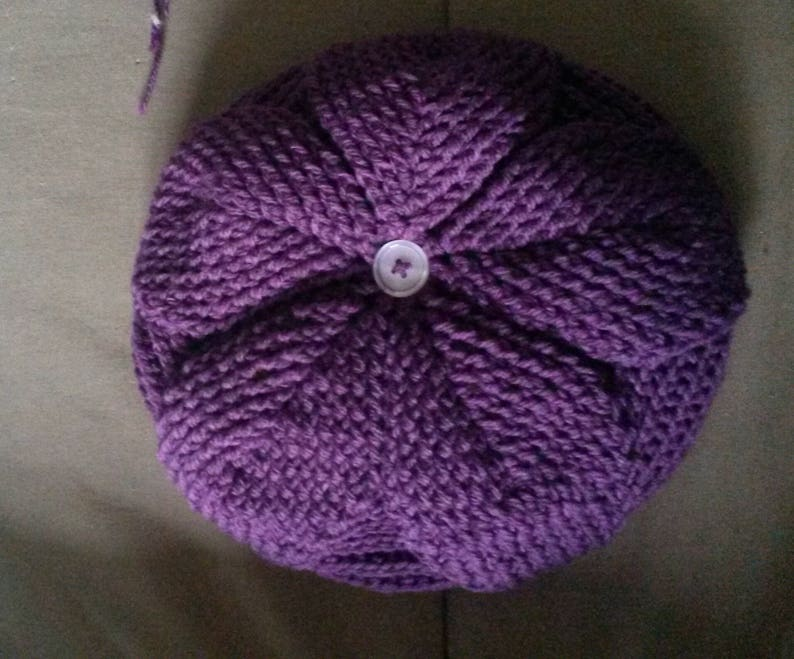 color and size to choose from beret patterned relief leaves 05 years handmade crochet