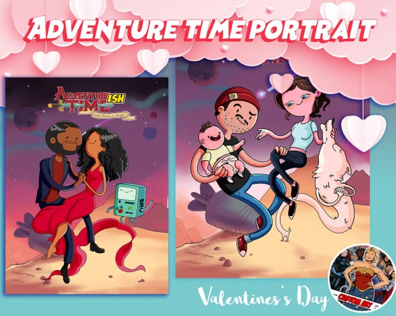 Adventure time distant lands Custom digital art printable!