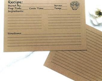Thanksgiving Recipe Card Digital Download, Recipe Cards, Digital Downloads, Thanksgiving Recipes, Family Recipes, Moms Recipes