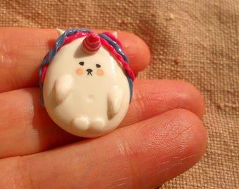 Chubby sheep beads