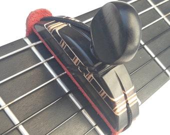 Traditional Spanish Guitar Capo, cejilla, Flamenco guitar, guitara flamenca, guitar accessories, handmade guitar capo, Classical guitar