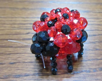 Beaded Ladybugs