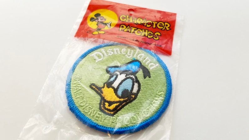 Disneyland Vintage Donald Duck Patch from the 1970/'s Souvenir Disney Collectible
