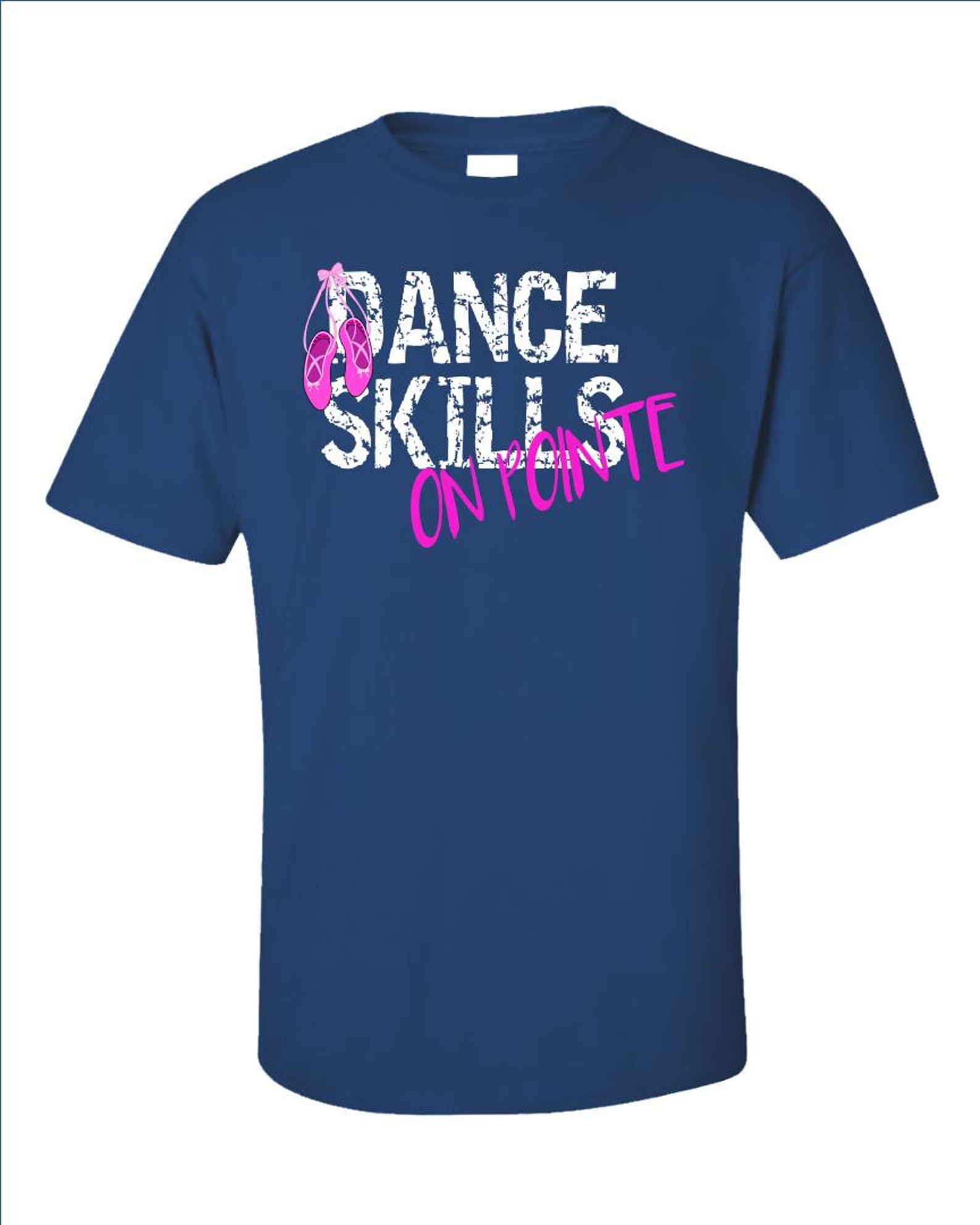 ballet dance skills on pointe ballerina - unisex t-shirt