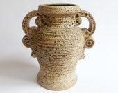 Dümler Breiden Ceramic Vase Organic Fat Lava West German Pottery Vintage 60 39 s