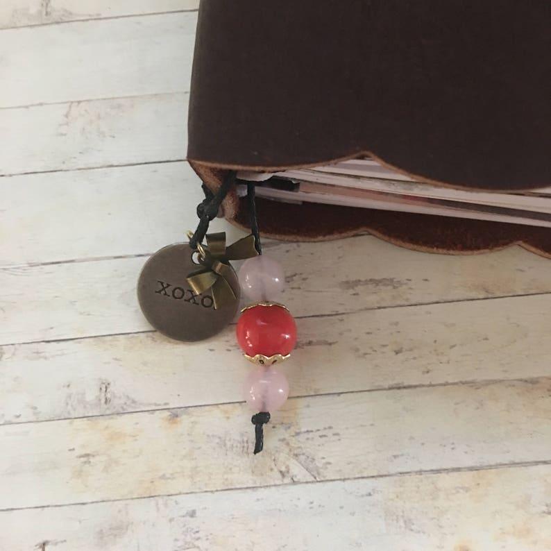 B6 TN Traveler/'s Notebook Bookmark Planner Charm