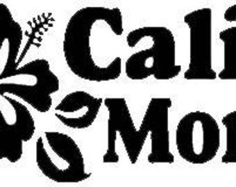 Decal - Cali Mom