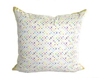 Custom Louis Vuitton Scarf Pillow