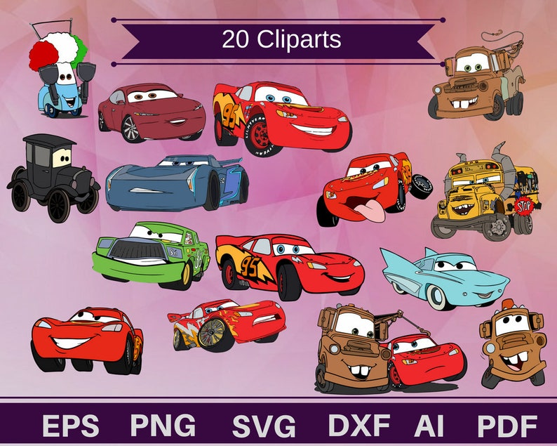 image relating to Lightning Mcqueen Printable Decals titled 20 Automobiles cliparts,Lightning Mcqueen,Mcqueen clipart,Mcqueen svg,mcqueen printable,autos printable,cars and trucks blouse,cars and trucks svg,autos decal,vehicles present