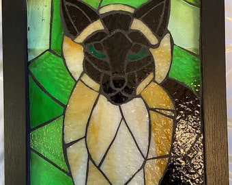 Stained Glass Mosaic Art - Cats, Cats, Cats
