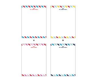 "4.25x5.5"" Custom/Personalized Flat Notecards with kraft envelopes"