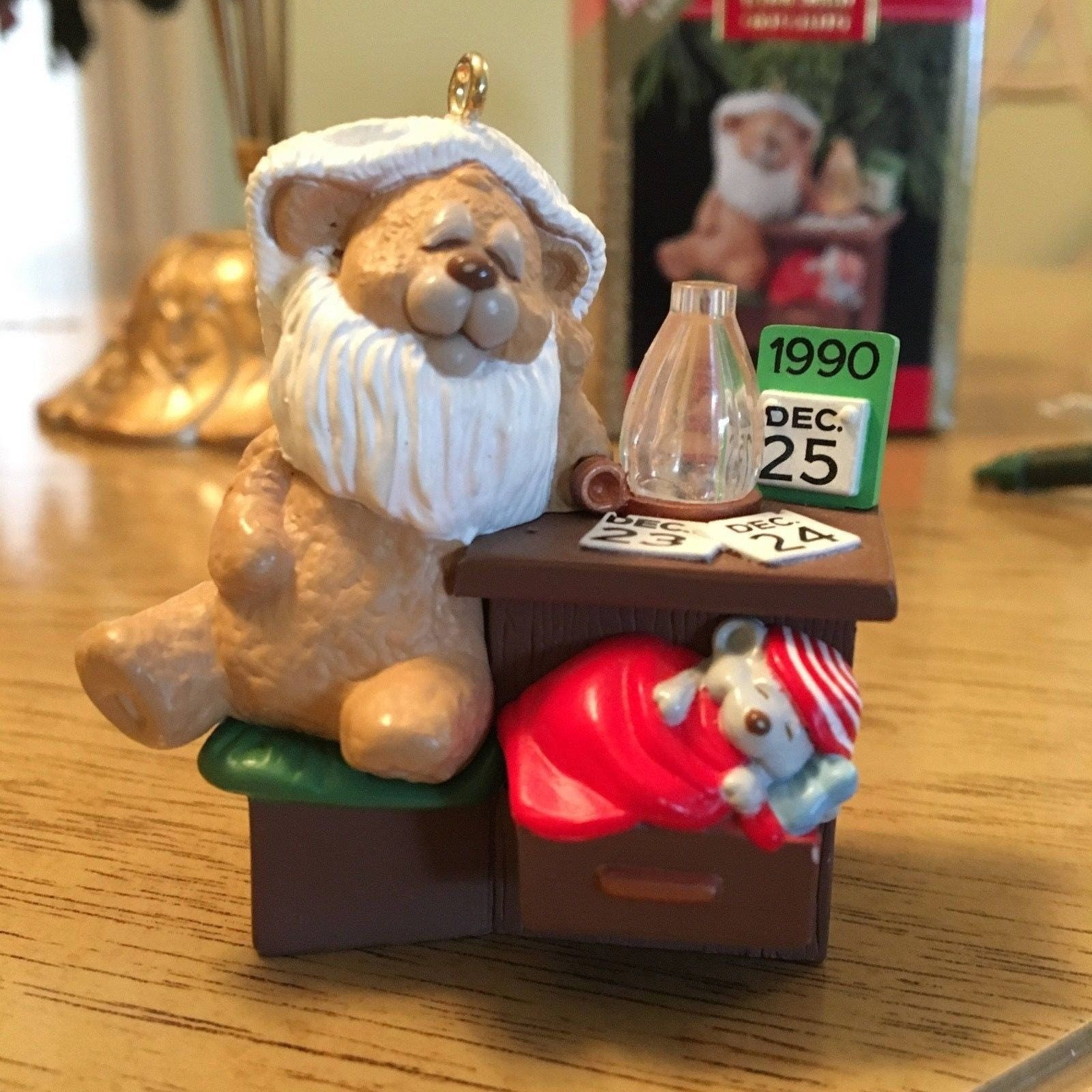 50 Bear Short Nap Hallmark Keepsake Ornament