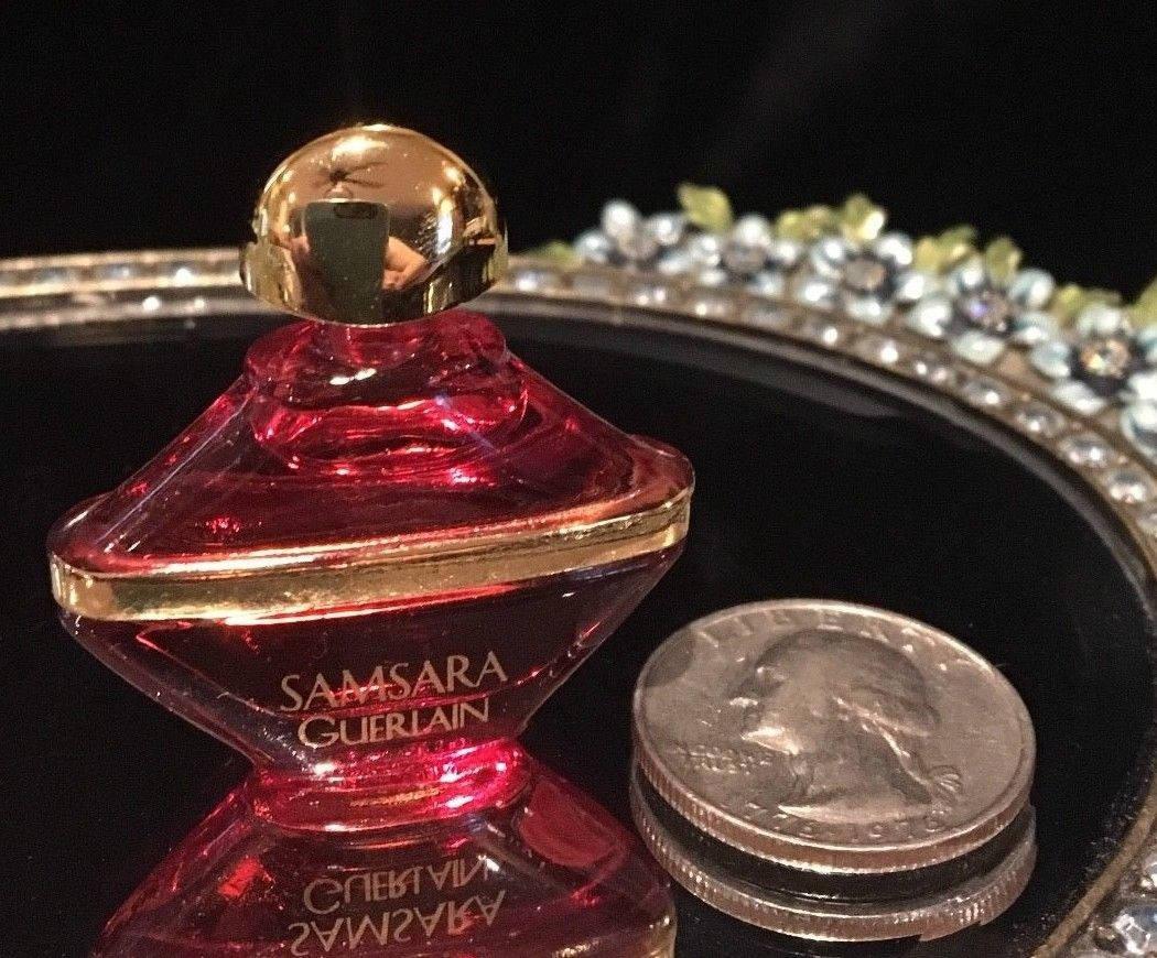 Miniature Perfume Bottle Guerlains Samsara 2 Ml Etsy Guerlain Woman Edp 100 Zoom
