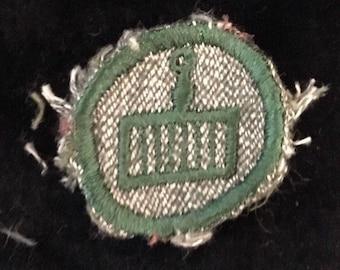 Vintage Girl Scout Badge COOK 1928-1938