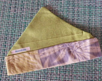 Dog bandana, dog kerchief, pet accessories, dog collar trim