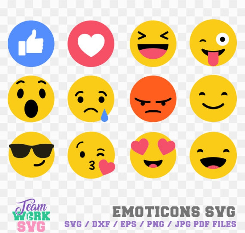 graphic about Printable Emojis Faces called Emoticons, Emoji Assortment, Smiley Faces Svg Report, Printable Emojis, Minimize Document svg, Smile Syilhouette, Cameo Cricut Record, Staff-14