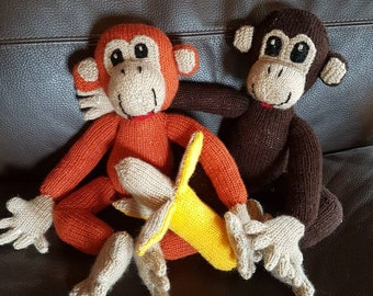 Love monkeys and their bananas from 40cm each