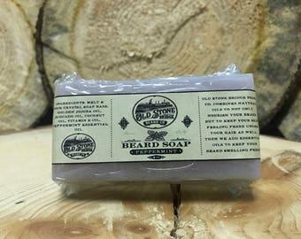 Peppermint Beard Soap