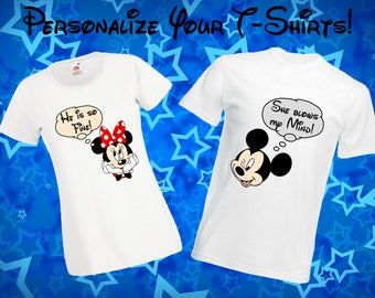ff30e700 11 He is so fine She blows my mind - Mickey Mouse, Minnie Mouse, Disney  Family T-shirts, Disney Family Vacation, Couples T-Shirts, Love