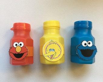 Sesame Street Bubbles, Big Bird Bubbles, Cookie Monster Bubbles, Elmo Bubbles