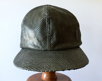 0606767f4aa24 Grey SnakeSkin Ball Cap