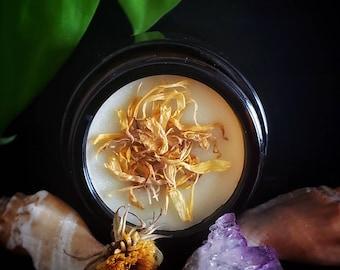 FIRST AID - Healing Salve with Calendula, Plantain, & Rosehips (1 oz.)