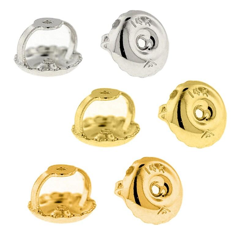 8e0629600 Replacement Earrings Backs Screw Backs Earring Nut Earnut 14k | Etsy