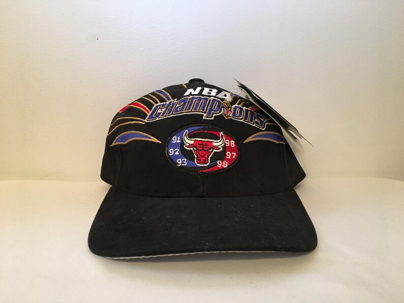 c0e85829713 New Dead Stock Vintage 1998 Chicago Bulls NBA Champions 91 92