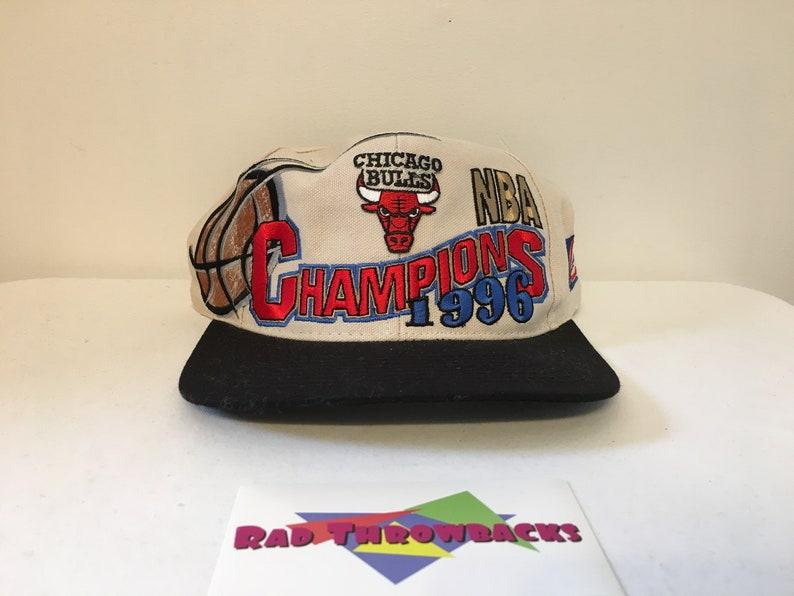 7ddc8ff542c New Dead Stock Vintage 1996 Chicago Bulls NBA Finals Champions