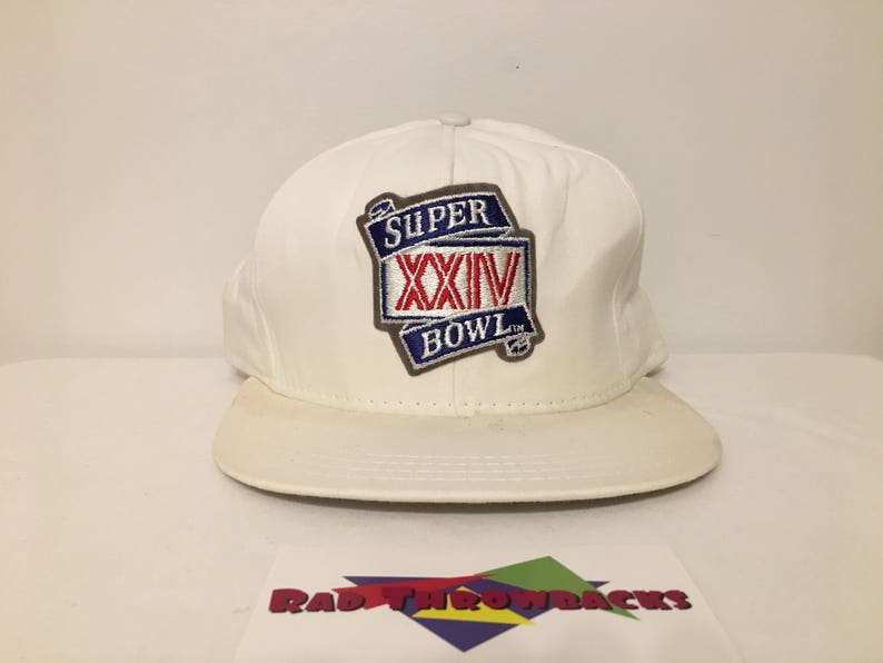 a0693606 New Dead Stock Vintage 1990 Super Bowl XXIV 24 San Francisco | Etsy