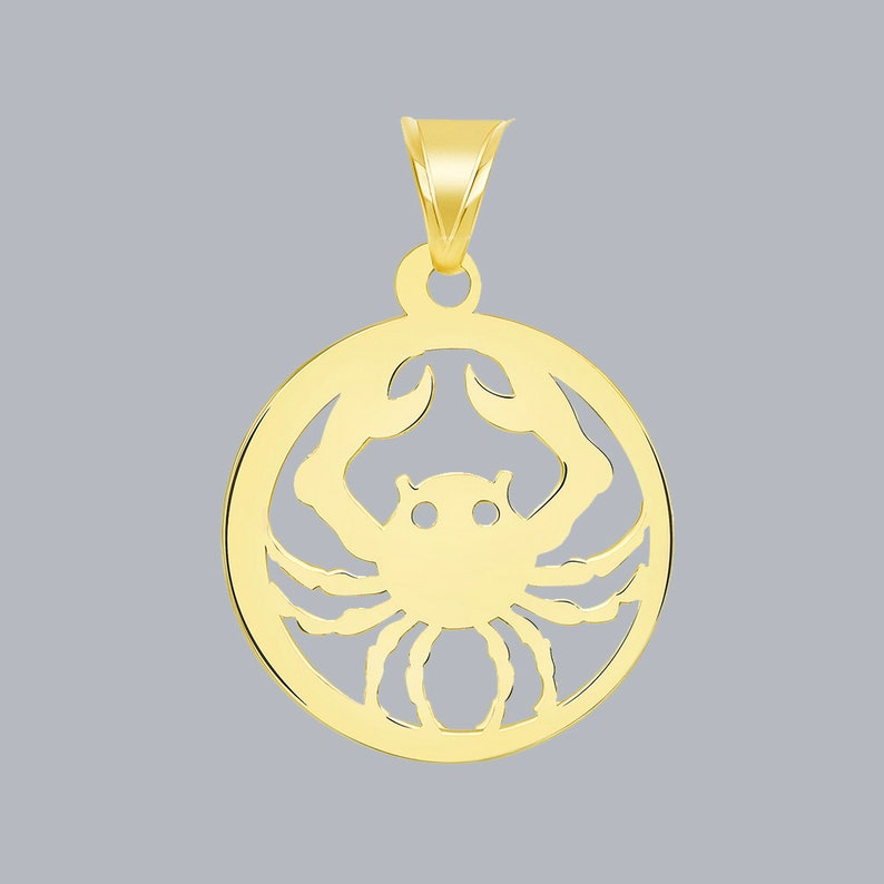 Solid 14K Rose Gold Textured Round Tree of Life Charm Pendant
