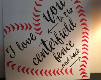 To The Centerfield Etsy