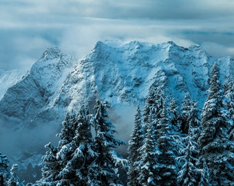 Winter Wonderland in Washington |  Pacific Northwest Photography | Print | Metal, Canvas, or Lustre