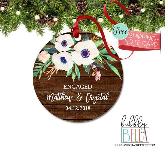 Christmas Ornament Personalized Christmas Gift For Couple Etsy