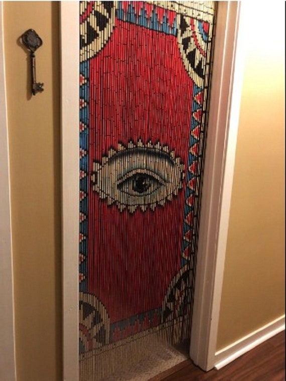 The Eye Beaded Curtain Room Dividers, Beaded Curtains For Doors Uk