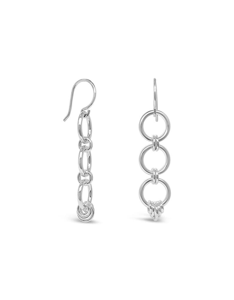 Sterling Silver Ear Wires Handmade Jewelry Hoop Dangle Earrings