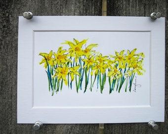 Daffodil Original Art