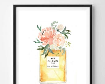 Perfume Printable Wall Art NO. 5