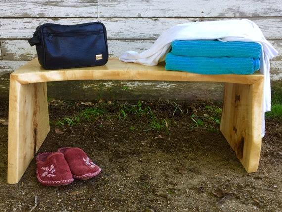 Houten Bankje Slaapkamer : Bench voor einde van bed slaapkamer kruk slaapkamermeubels etsy