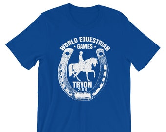 Tryon NC International World Equestrian Games 2018, Equestrian Gifts, Equestrian Clothing, Horse Eventing, Horse Eventing Gift, Horse Events