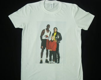 e31bb523294 Michael Jackson, Michael Jordan and Mcaulay Culkin White T-shirt sizes  available S-3XL