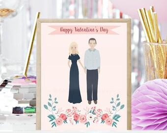 DIGITAL DOWNLOAD - Valentine's Day Couple Portrait