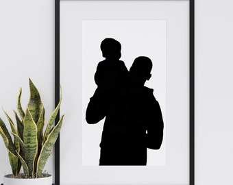 SILHOUETTE PORTRIAT - Photo to silhouette